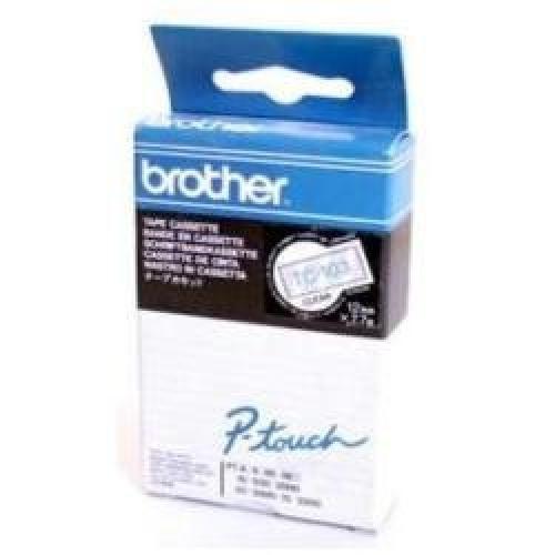 Brother TC-103 nastro per etichettatrice Blu su trasparente cod. TC-103
