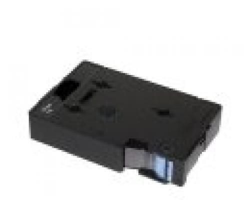 Brother Gloss Laminated Labelling Tape - 9mm, White/Clear nastro per etichettatrice TC cod. TC-195