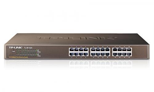 TP-LINK 24-Port 10/100Mbps Fast Ethernet Switch - TL-SF1024