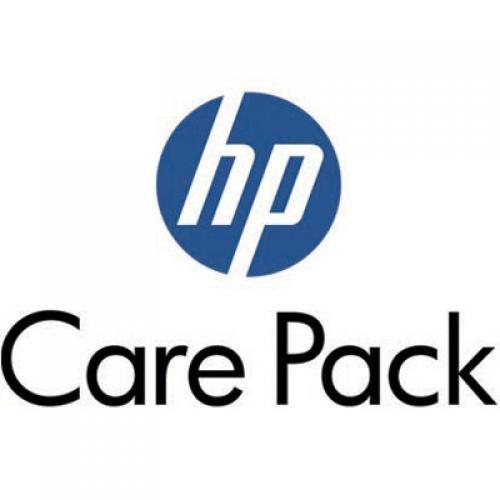 HP Quattro anni di assistenza entro il giorno lavorativo successivo in sede/trattenuta disco SVC NB cod. UE336E