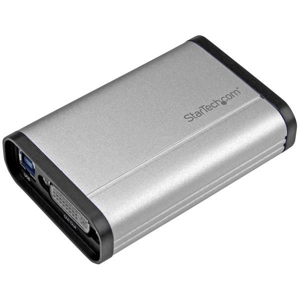 StarTech.com Scheda Acquisizione Video USB 3.0 a DVI - 1080p 60fps - Alluminio cod. USB32DVCAPRO