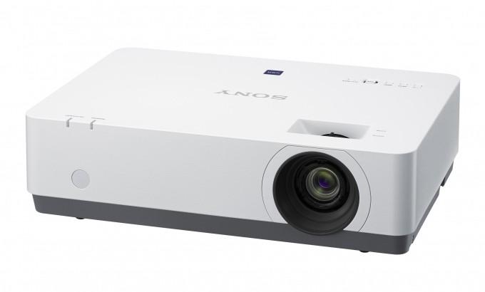 Sony VPL-EX455 videoproiettore 3600 ANSI lumen 3LCD XGA (1024x768) Proiettore desktop Nero, Bianco cod. VPL-EX455