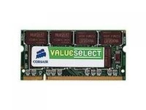 Corsair 512MB DDR SDRAM SO-DIMMs memoria 0,5 GB 333 MHz cod. VS512SDS400