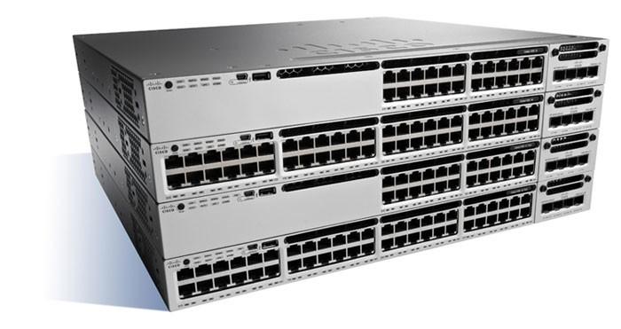 Cisco Catalyst WS-C3850-24P-S switch di rete Gestito Nero, Grigio Supporto Power over Ethernet (PoE) cod. WS-C3850-24P-S