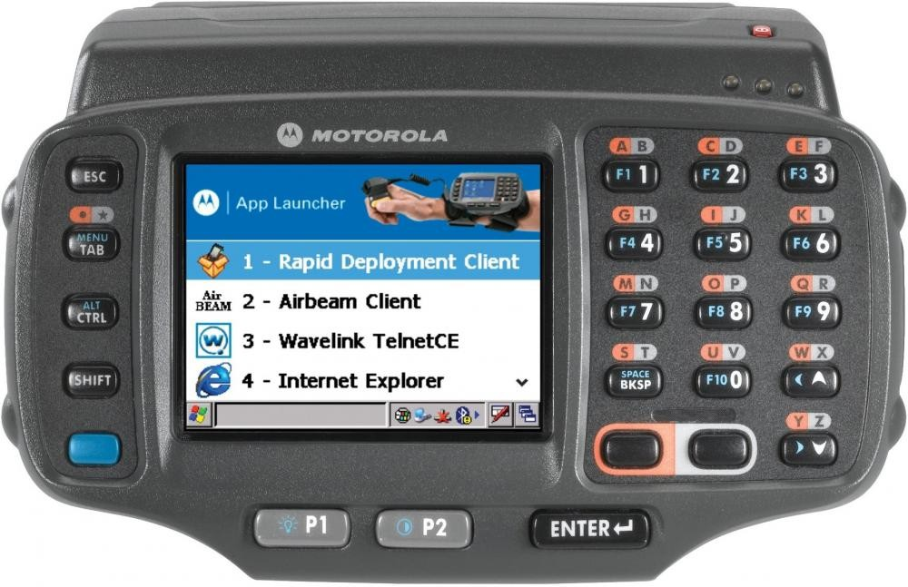 "Zebra WT41N0 computer palmare 7,11 cm (2.8"") 320 x 240 Pixel Touch screen 369,8 g Nero cod. WT41N0-T2H27ER"
