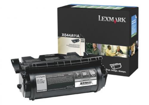 Lexmark X64xe 10K retourprogramma printcartridge - X644A11E