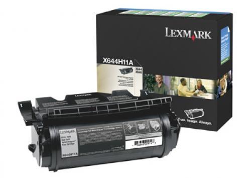 Lexmark X644H11E cartuccia toner Original Nero 1 pezzo(i) cod. X644H11E