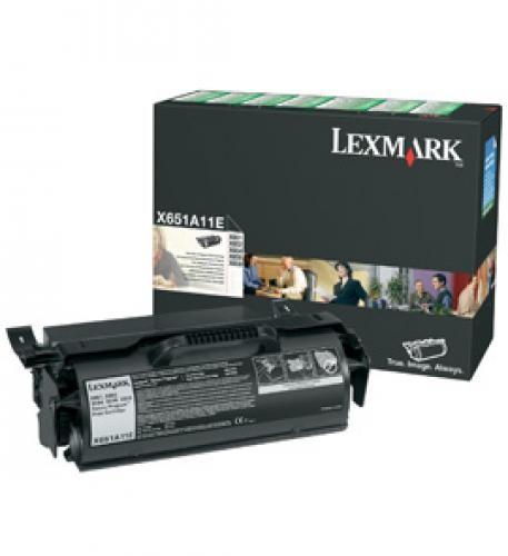 Lexmark X65x 7K retourprogramma printcartridge - X651A11E