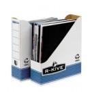 Fellowes 0026301 scatola per la conservazione di documenti Blu, Bianco cod. 0026301
