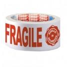 """TESA Nastro da imballo in PP stampato """"FRAGILE"""" nastro adesivo da cancelleria 66 m cod. 07024-00018-03"""