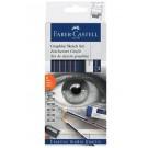 Faber-Castell 114000 set da regalo penna e matita Graphite pencil Scatola di carta cod. 114000