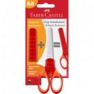 Faber-Castell 181550 forbici da cancelleria Taglio a zig zag Rosso Universale cod. 181550