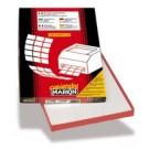 Markin 210A407 Bianco etichetta per stampante cod. 210A407