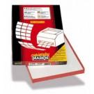 Markin 210C576 Bianco etichetta per stampante cod. 210C576