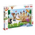 Clementoni The Magic Kingdom Puzzle 104 pezzo(i) cod. 27113