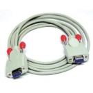 Lindy Card Reader cable 2m cavo di segnale Grigio cod. 30172