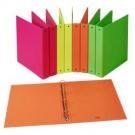 Favorit 400052715 raccoglitore ad anelli Cartoncino, Carta Arancione cod. 400052715