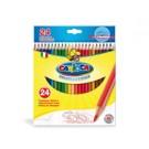 Carioca Hexagonal Multi 24pezzo(i) pastello colorato cod. 40381