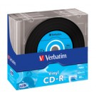 Verbatim CD-R Super AZO Data Vinyl, 10pk - 43426