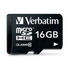 Verbatim Premium memoria flash 16 GB MicroSDHC Classe 10 cod. 44082