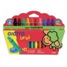 Giotto Be-Be Wax pastel Multicolore 10 pezzo(i) cod. 466800