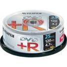 Fujifilm DVD+R 4.7GB 25-spindle 16x - 47493