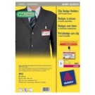 Avery 4822 PVC 25pezzo(i) badge e porta badge cod. 4822