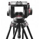 """Manfrotto 509 HD testa per treppiede Nero 3/8"""" Panoramic head cod. 509HD"""