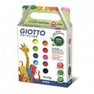 Giotto Patplume Argilla da modellare Multicolore 20 g 10 pezzo(i) cod. 512900