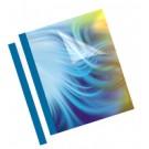 Fellowes 53171 cartellina A4 Plastica, PVC Blu, Trasparente 100 pz cod. 53171