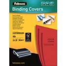 Fellowes 5373702 cartellina A4 Carta Rosso 25 pezzo(i) cod. 5373702