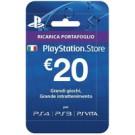 Sony Playstation Live Cards Hang 20 Euro Videogioco Cartolina cod. 9894636