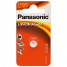 Panasonic Lithium Power Single-use battery CR1025 Litio cod. C301025