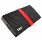 Emtec X200 128 GB Nero, Rosso cod. ECSSD128GX200