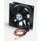 StarTech.com Quiet Dual Ball Bearing 8cm Case Fan with TX3 Connector - FAN8X25TX3L