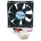 StarTech.com 8cm Dual Ball Bearing PC Case Cooling Fan w/Internal Power Connectors - FANBOX