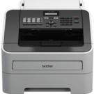 Brother FAX-2840 macchina per fax Laser 33,6 Kbit/s A4 Nero, Grigio cod. FAX-2840