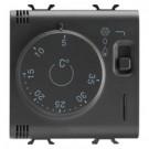 Gewiss GW12705 termostato Nero cod. GW12705