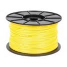 Hamlet Bobina di filamento per stampanti 3D 3DX100 in ABS Giallo da 1kg cod. HP3DXROLYL