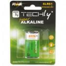 Techly Blister 1 Batteria High Power Alcalina 6LR61 9V (IBT-KAL-LR61T) cod. IBT-KAL-LR61T