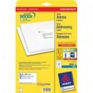 Avery J8160-25 Bianco etichetta per corrispondenza cod. J8160-25