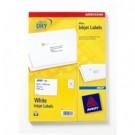 Avery J8161-25 Bianco etichetta per corrispondenza cod. J8161-25
