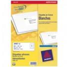 Avery J8163-25 Bianco etichetta per corrispondenza cod. J8163-25