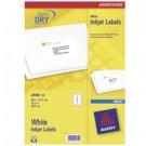 Avery J8165-25 Bianco etichetta per corrispondenza cod. J8165-25