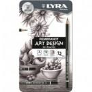 Lyra Rembrandt Art Design 6B 12pezzo(i) matita di grafite cod. L1110106