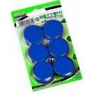Lebez MR-30-BL bacheca magnetiche e accessori Acciaio Blu cod. MR-30-BL