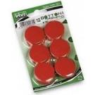 Lebez MR-30-R bacheca magnetiche e accessori Rosso cod. MR-30-R