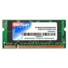 Patriot Memory DDR2 2GB CL5 PC2-6400 (800MHz) SODIMM 2GB DDR2 800MHz memory module cod. PSD22G8002S
