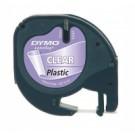 DYMO 12mm LetraTag Plastic Tape nastro per etichettatrice cod. S0721530