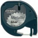 DYMO LetraTAG Metallic tape nastro per etichettatrice cod. S0721730